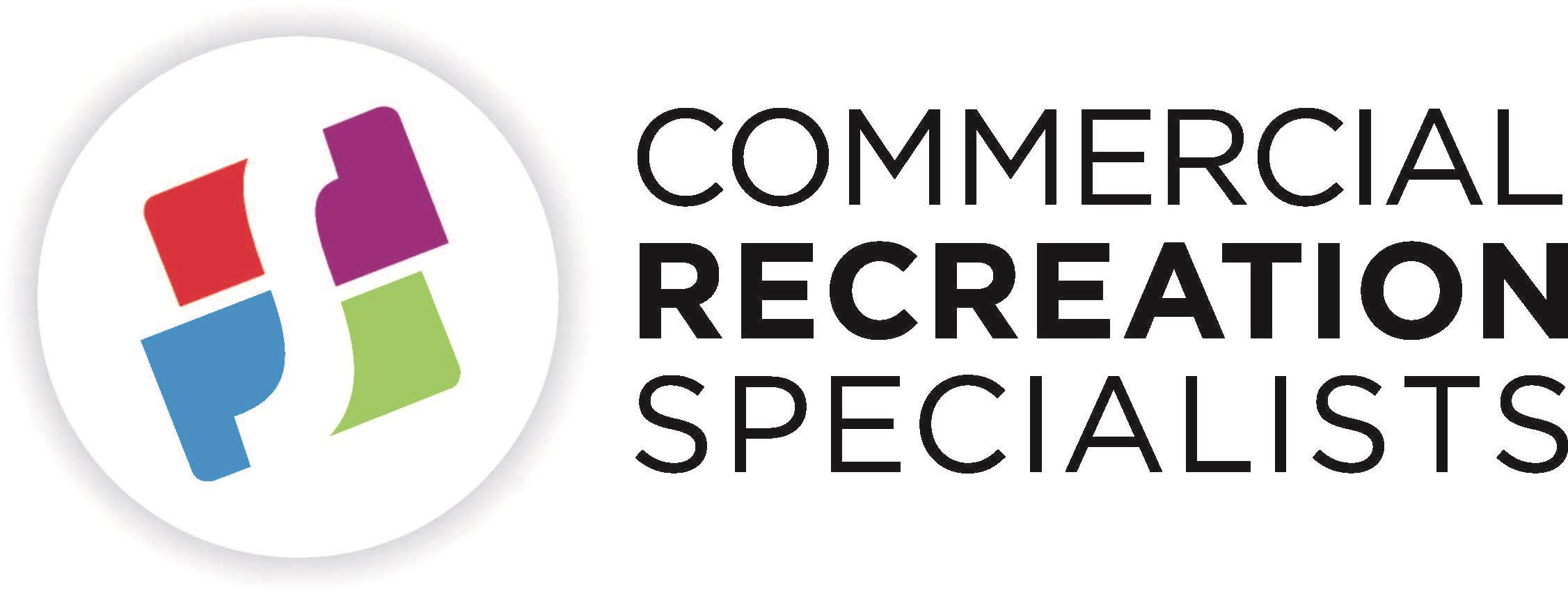 CRS_circlesymbol-4c - Commercial Recreation Specialists - Stacked black txt - Shadow